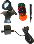 CQD-120-1 Halogen Underwater Light Kit